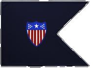 Adjutant General Corps Guidon Framed 16x20
