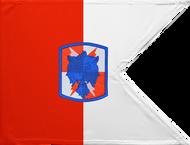 35th Signal Brigade Guidon Unframed 04x07
