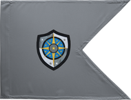 Cyber Protection Brigade Guidon Framed 24x31 (Regulation)