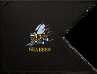 US Navy Seabees Guidon Framed 24x31 (Regulation)