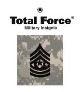 ACU Rank E9 Command Sergeant Major (CSM)