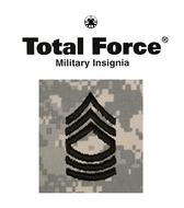ACU Rank E8 Master Sergeant (MSG)