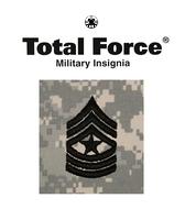 ACU Rank E9 Sergeant Major SGM