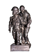 Rod Mench Warrior Ethos Statue Female