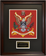 112th Engineering Battalion Framed 16x20