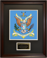 202nd Military Intelligence Framed 16x20