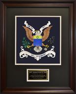 347th Regiment Framed 16x20
