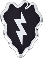 25th Infantry Division Car Emblem