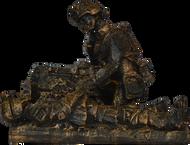 Rob Mench Combat Medic Female Statue