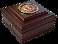 Marine Corps Desktop Keepsake Box