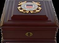 Coast Guard Desktop Keepsake Box