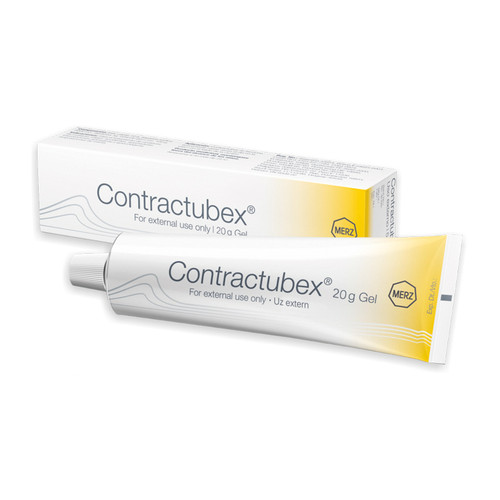 CONTRACTUBEX Cream gel 20 gr for burns acne surgery highly effective solution