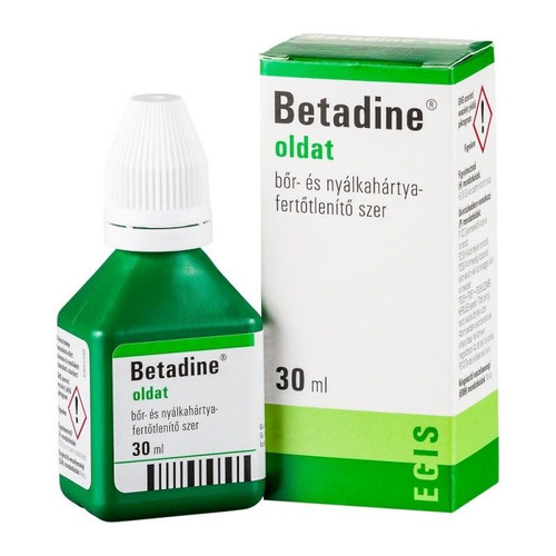 BETADINE IODINE FIRST AID SOLUTION ANTISEPTIC CUTS WOUNDS 30ml
