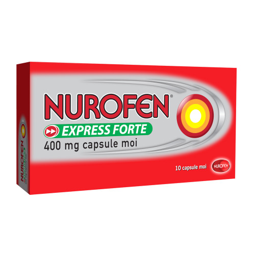 NUROFEN EXPRESS COLD & FLU PE 10 TABLETS TARGETED SYMPTOM RELIEF FAST EFFECTIVE