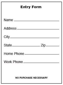 Blank Entry Pads - Communikay