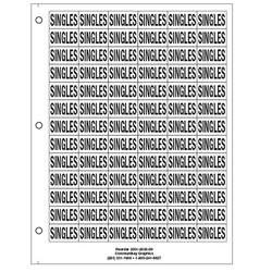 "3/4"" Singles"