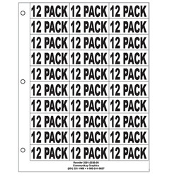 "1"" 12 Pack"