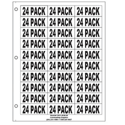 "1"" 24 Pack"
