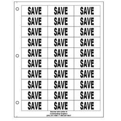 """1"""" Save"""