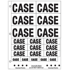"""1"""" and 2"""" Case"""