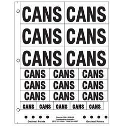 """1"""" and 2"""" Cans"""