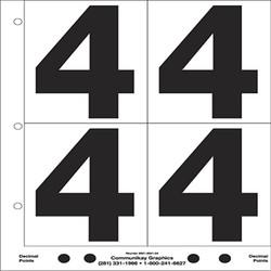 "5"" Number 4"