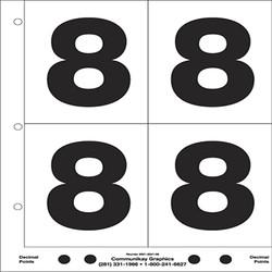 "5"" Number 8"