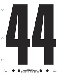 "9"" Number 4"