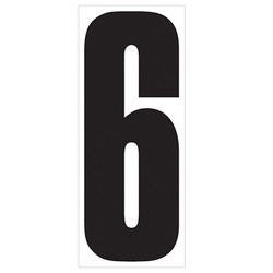 "18"" Number 6"
