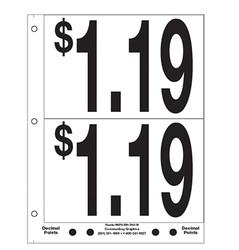 """5"""" Pre-priced $1.19"""