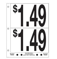 """5"""" Pre-priced $1.49"""