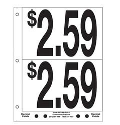 """5"""" Pre-priced $2.59"""