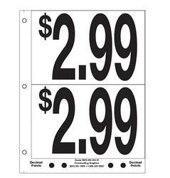 """5"""" Pre-priced $2.99"""