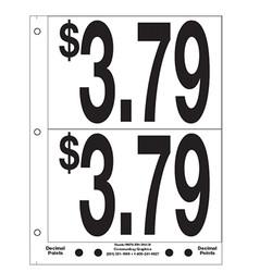 """5"""" Pre-priced $3.79"""