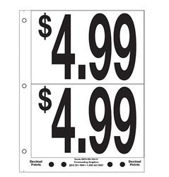 """5"""" Pre-priced $4.99"""