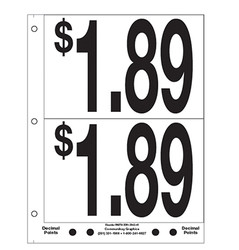 """5"""" Pre-priced $1.79"""