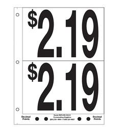 """5"""" Pre-priced $2.19"""