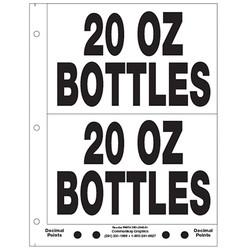 """5"""" 20oz Bottles"""