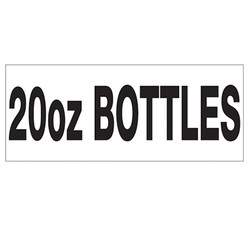 POP 20 oz BOTTLES
