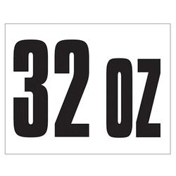 Small Banner Label - 32 oz