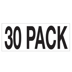 Large Banner Label - 30 Pack