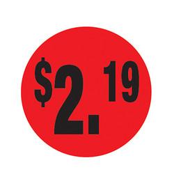 Da-Glos $2.19