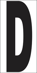 "6"" Letter D"