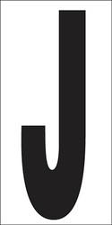"""6"""" Letter J"""