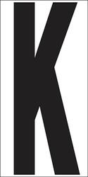 "6"" Letter K"