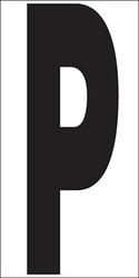 """6"""" Letter P"""