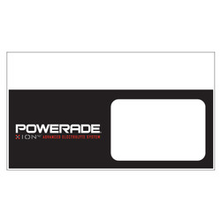 "Shelf talker - 10"" x 6.25"" Powerade"