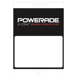 "Paper Pole Sign - 16"" x 23"" Powerade"