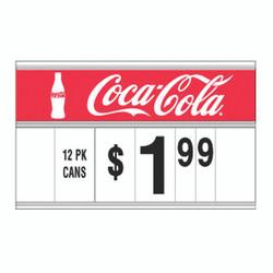 "21"" Spiral Display Sign - Coke"