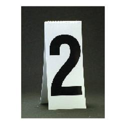 """11 1/8"""" Spiral Number Dollar Pad - White"""